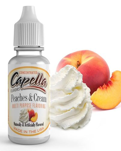 Capella Peaches and Cream - Flavour Chasers