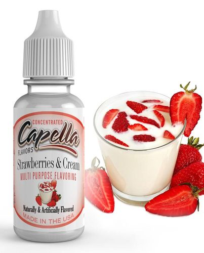 Capella Strawberries and Cream - Flavour Chasers