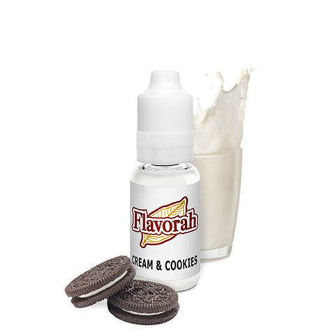 Flavorah Cream & Cookies - Flavour Chasers