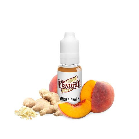 Flavorah Ginger Peach - Flavour Chasers