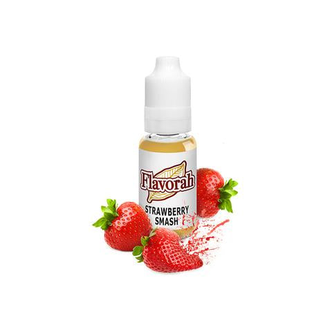 Flavorah Strawberry Smash - Flavour Chasers