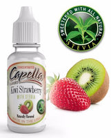 Capella Kiwi Strawberry with Stevia - Flavour Chasers