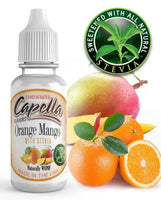 Capella Orange Mango with Stevia - Flavour Chasers