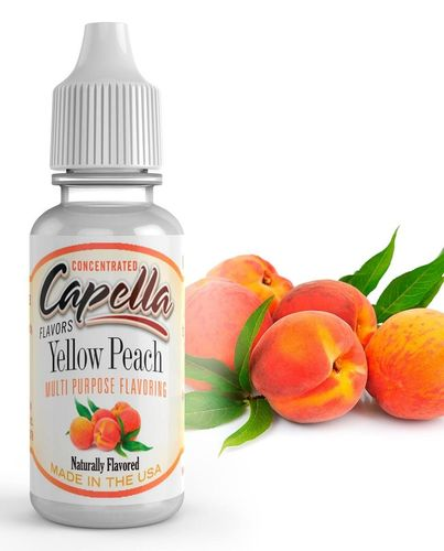 Capella Yellow Peach - Flavour Chasers