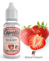 Capella Sweet Strawberry Rf - Flavour Chasers