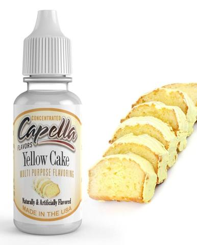 Capella Yellow Cake - Flavour Chasers