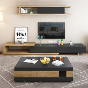 Lavish Designer Modern Wood Coffee Table