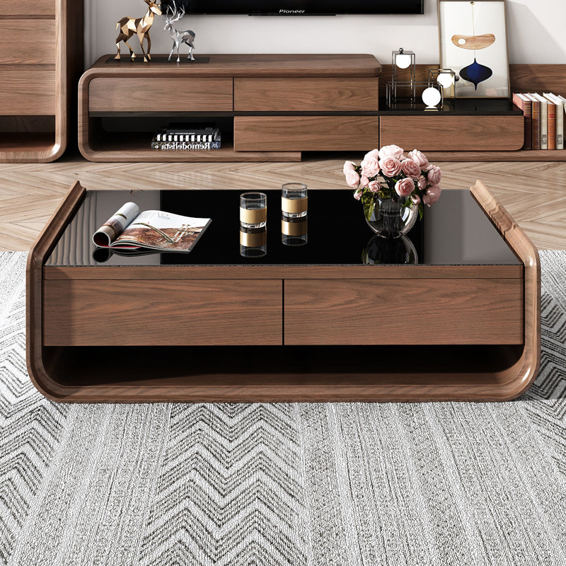 Modern Solid Wood Premium Coffee Table
