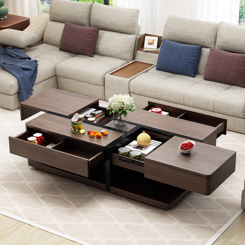 Latest Design Smart Solid Wood Coffee Table