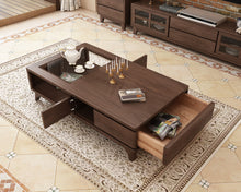 Load image into Gallery viewer, Ultra Smart TG Premium Wood Coffee Table