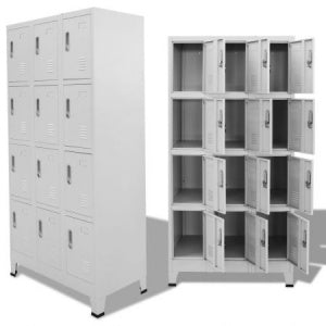 12 Compartments locker Cabinet