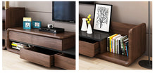 Load image into Gallery viewer, LAFQX Solid Wood Modern Tv Entertainment Unit Cabinet