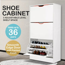Load image into Gallery viewer, Large Shoe Cabinet