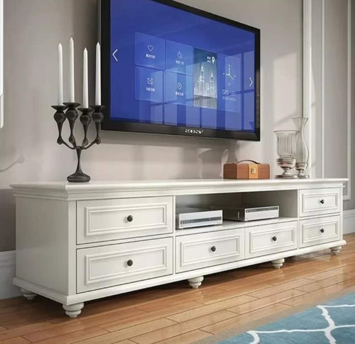 2m Long American Style Hampton Tv Unit