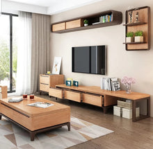 Load image into Gallery viewer, Silaika Solid Wood Tv Unit