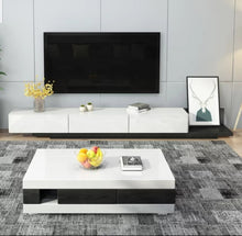 Load image into Gallery viewer, Super Modern Tv Unit Black and White