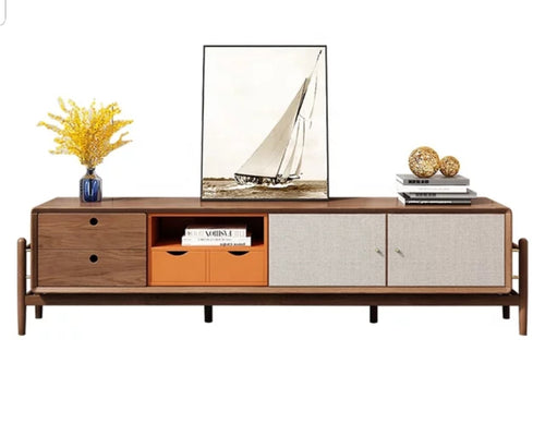 Saboowa Solid wood Entertainment unit