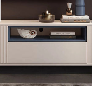 Butterfly Ivory Premium Entertainment Tv Unit