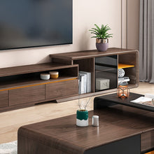 Load image into Gallery viewer, Fawla Wooden Tv Unit With Drawers