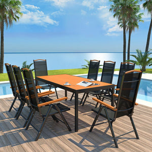 Tropical Outdoor Dining suite 8 Seater