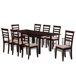Solid 8 Seater Dining Set