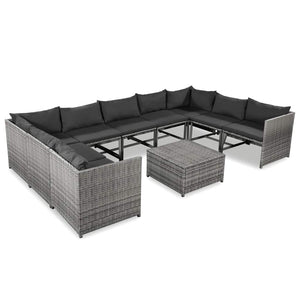 Latest 9 Seater Outdoor Lounge Set on Promotion