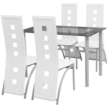 Load image into Gallery viewer, Waifa 4 Seater Modern Dining Set