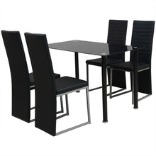 Load image into Gallery viewer, 4 Seater Gass Dining Set