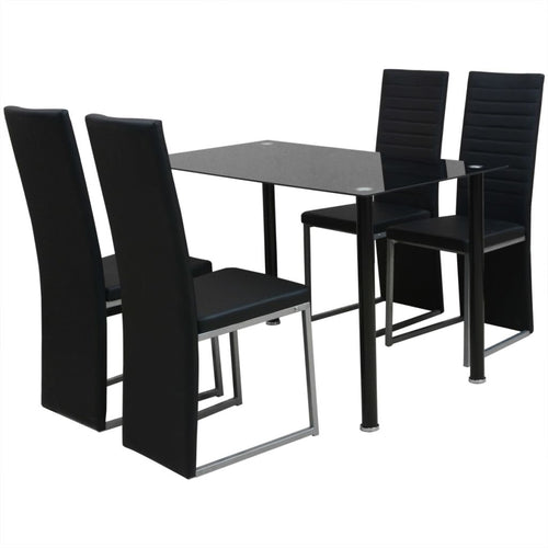 4 Seater Gass Dining Set