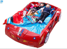 Load image into Gallery viewer, Luxurious ZX8 Car Kids Bed Frame Red