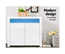 Load image into Gallery viewer, Sideboard Buffet Cabinet High Gloss Cabinet