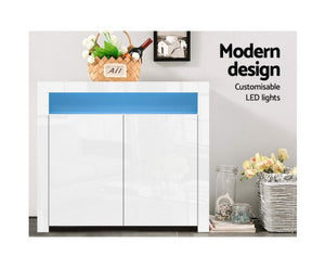 Sideboard Buffet Cabinet High Gloss Cabinet