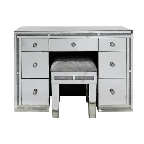 Milano Luxurious Mirrored Dressing Table