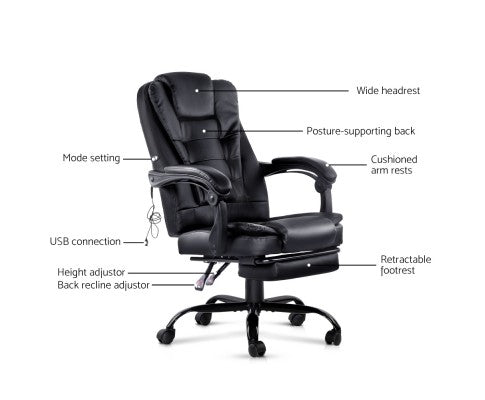 Electric Massage Office/Gaming Chair