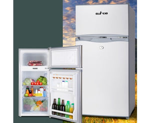 100L Portable Bar Fridge Freezer