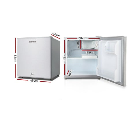 55L Portable Bar Fridge Freezer