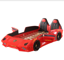 Load image into Gallery viewer, Ultra Stylish XX88 Turbo Car Bed Red