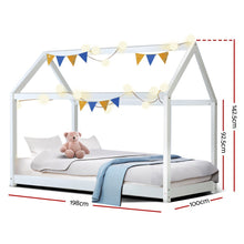 Load image into Gallery viewer, Kids Canopy Bed