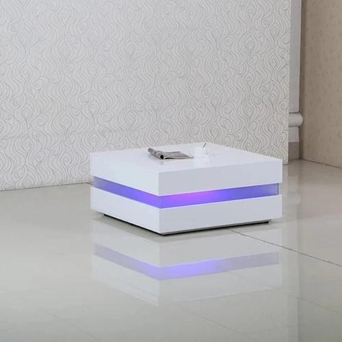 New Style Led Light Modern Coffee Table