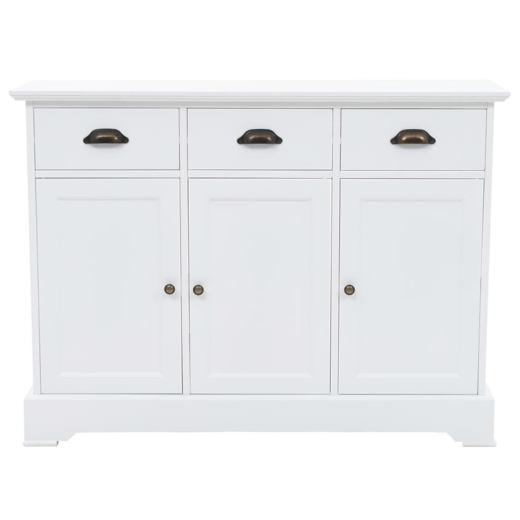 White Classical Buffet Sideboard