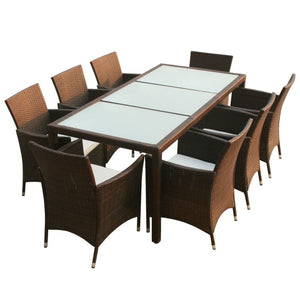 8 Seater Durable Outdoor Dining Setting