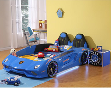 Load image into Gallery viewer, Ultra Stylish XX88 Turbo Car Bed Blue
