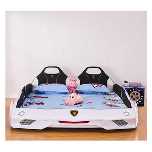 Ultra Stylish XX88 Turbo Car Bed White
