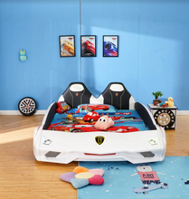 Load image into Gallery viewer, Ultra Stylish XX88 Turbo Car Bed White