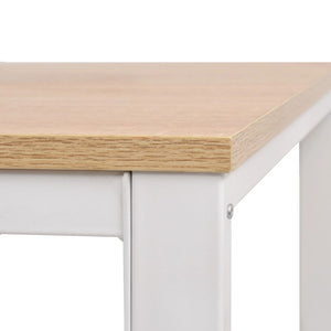 Wrting/Study Desk Oak And White