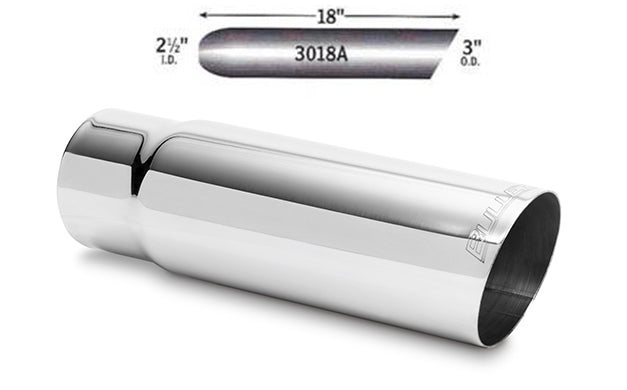 "3"" Stainless Steel Exhaust Tips -FREE Shipping in Contiguous US!"