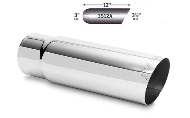 "3.5"" Stainless Steel Exhaust Tips -FREE Shipping in Contiguous US!"