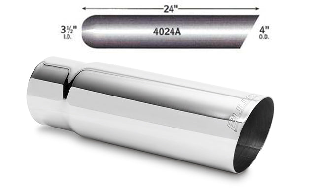 "4"" Stainless Steel Exhaust Tips   -FREE Shipping in Contiguous US!"