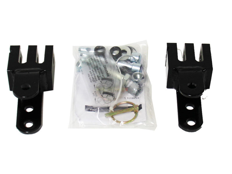 Triple Lug Kit, Roadmaster (Black Hawk II, Eagle, Falcon or Sterling)-to-Blue Ox Adapter