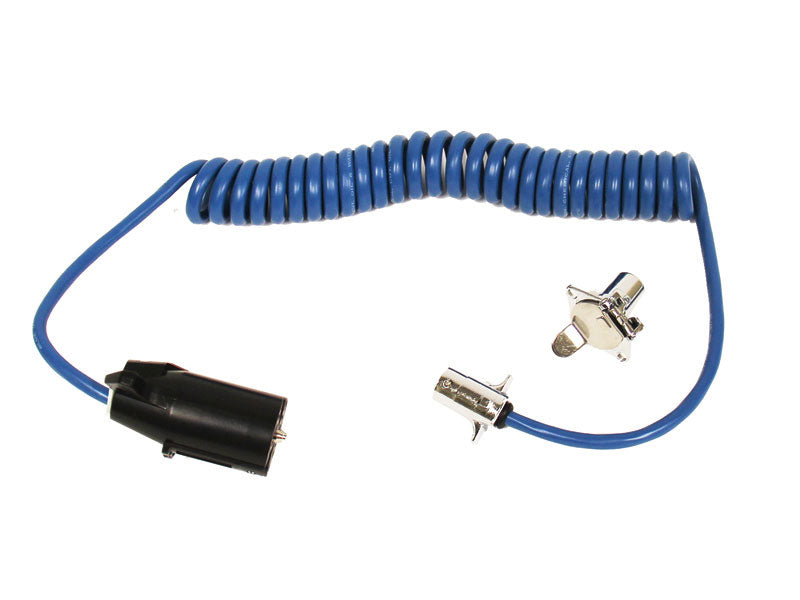 Blue Ox 7-4 Coiled Electrical Cable BX88254 - Ships for just $6.95 in Contiguous US!